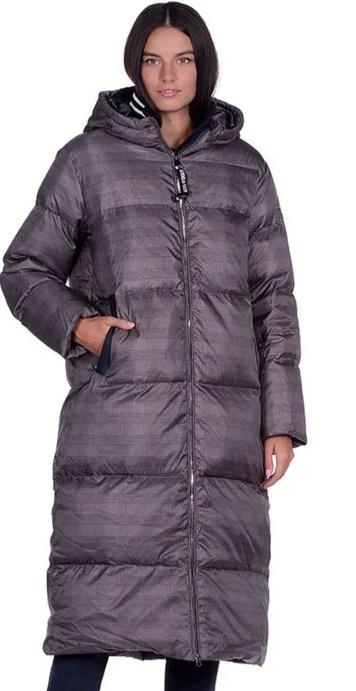 Пуховик - пальто  женский Mishele 48 размер