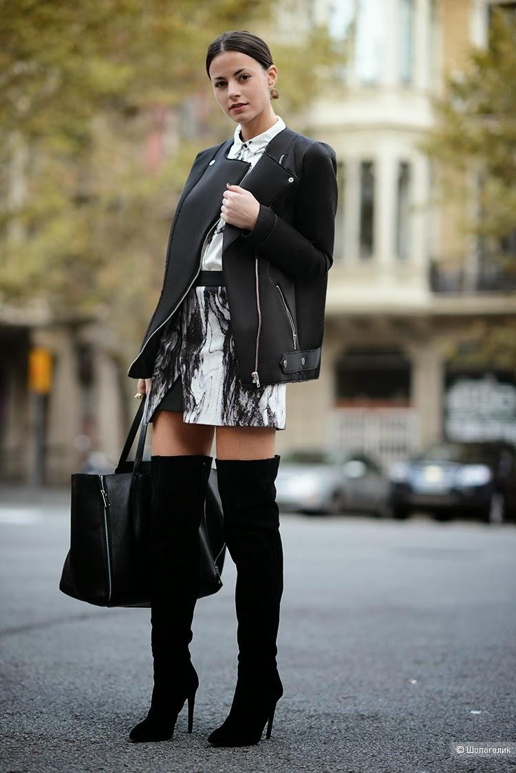 Сапоги ботфорты  Moda Donna. Размер 39