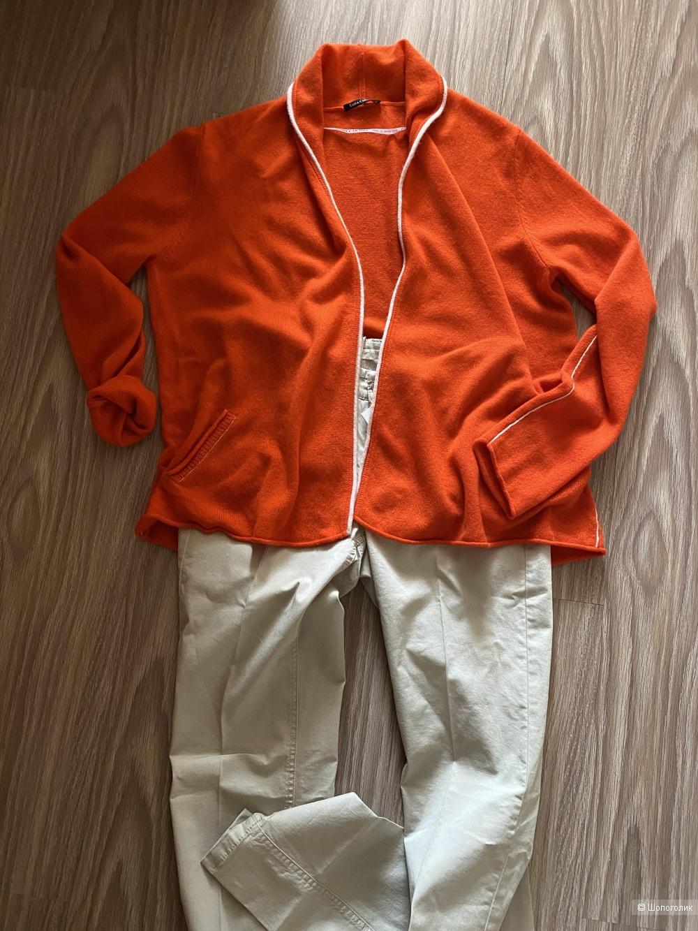 Кашемировый кардиган LUISA CERANO,размер 42-48