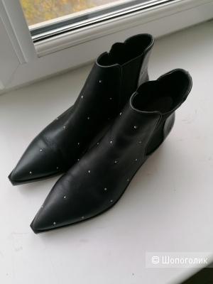 Кожаные ботинки Senso 40 размера