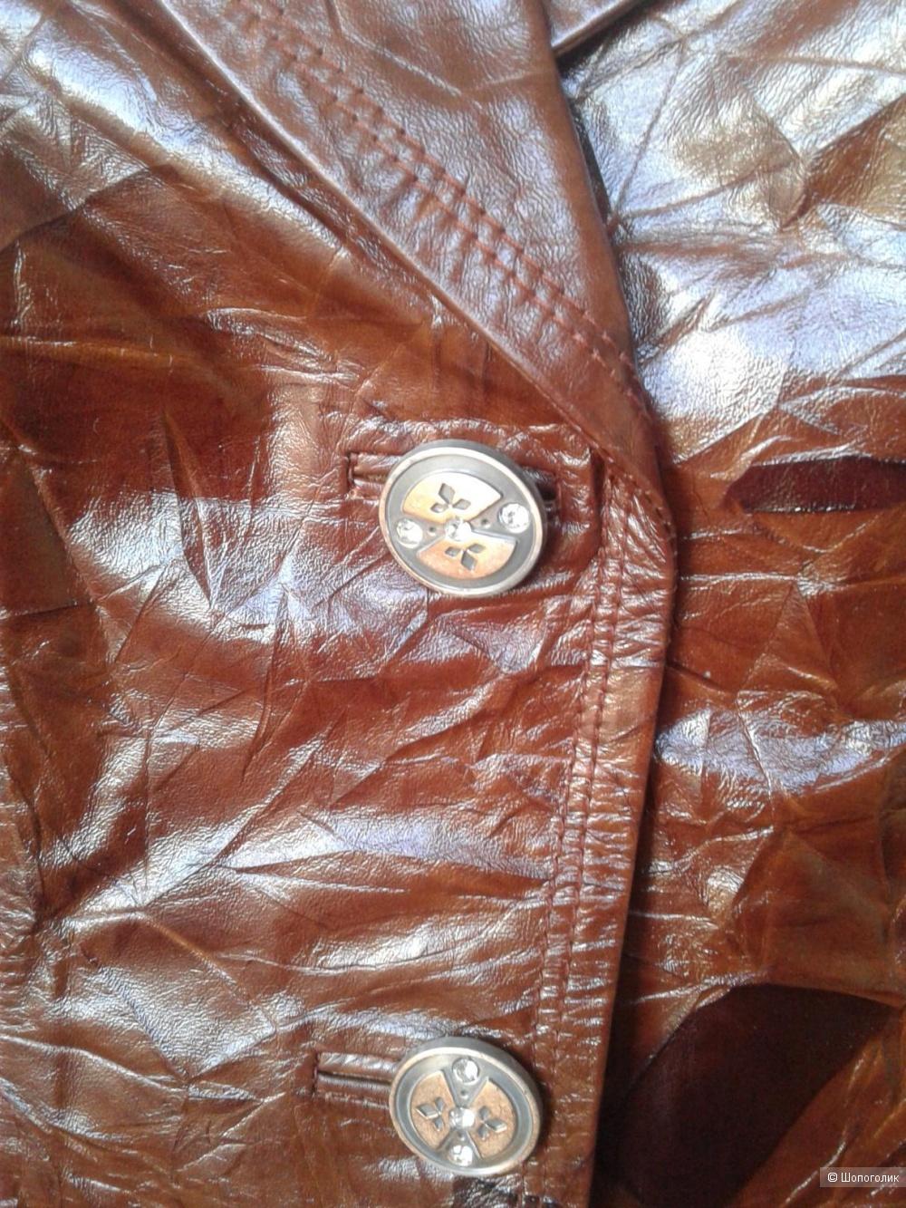 Кожаный жакет CoverDi размер рос. 44-46(48)