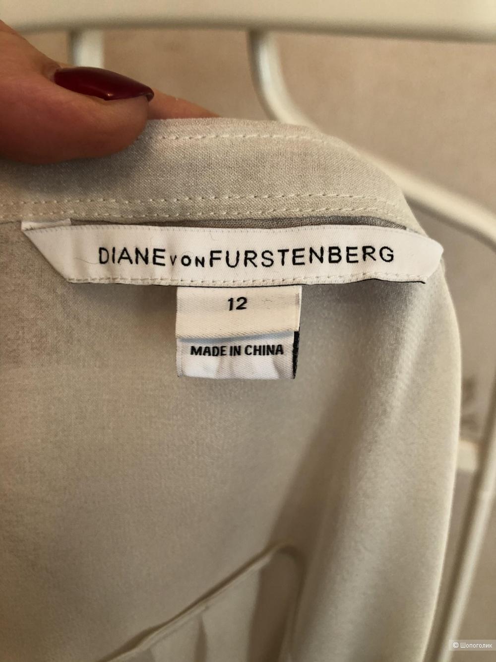 Блузка DIANE Von FURSTENBERG  12 ( 46-48)