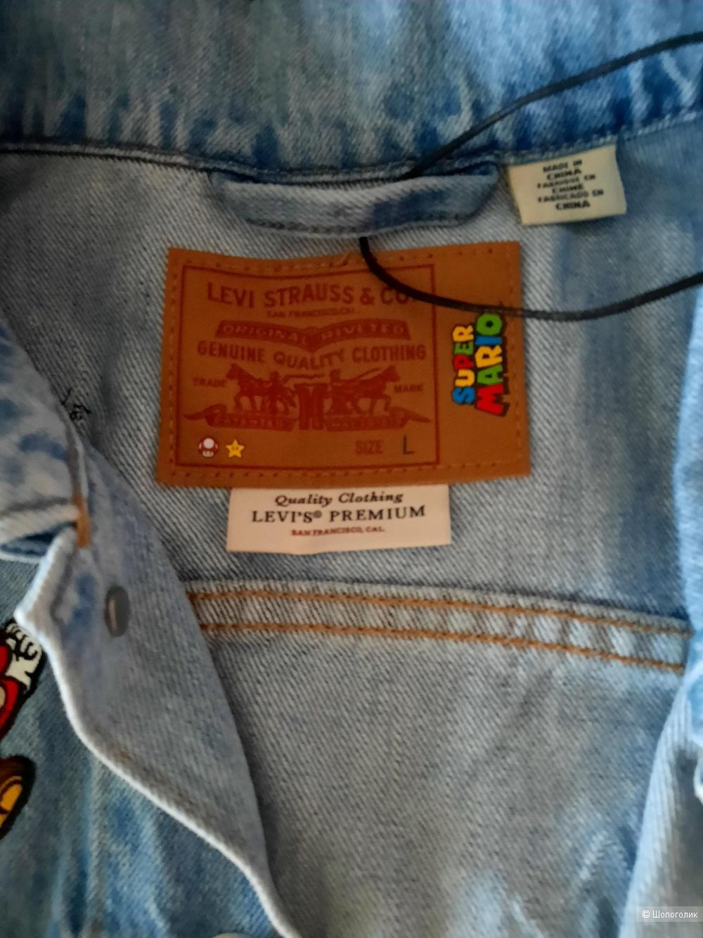 Джинсовая куртка Levi's X Super Mario, раз.L.