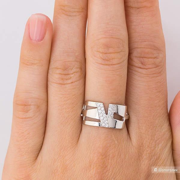 Кольцо из серебра - 17,5.