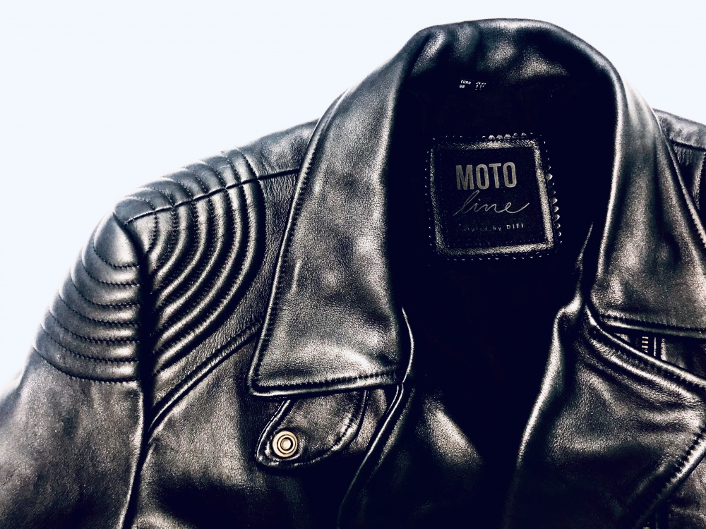 Кожаная мото-косуха MOTO Line, размер M