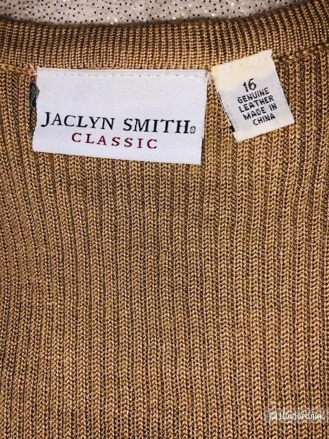 Кожаный жилет Jacklin Smith,48-50.