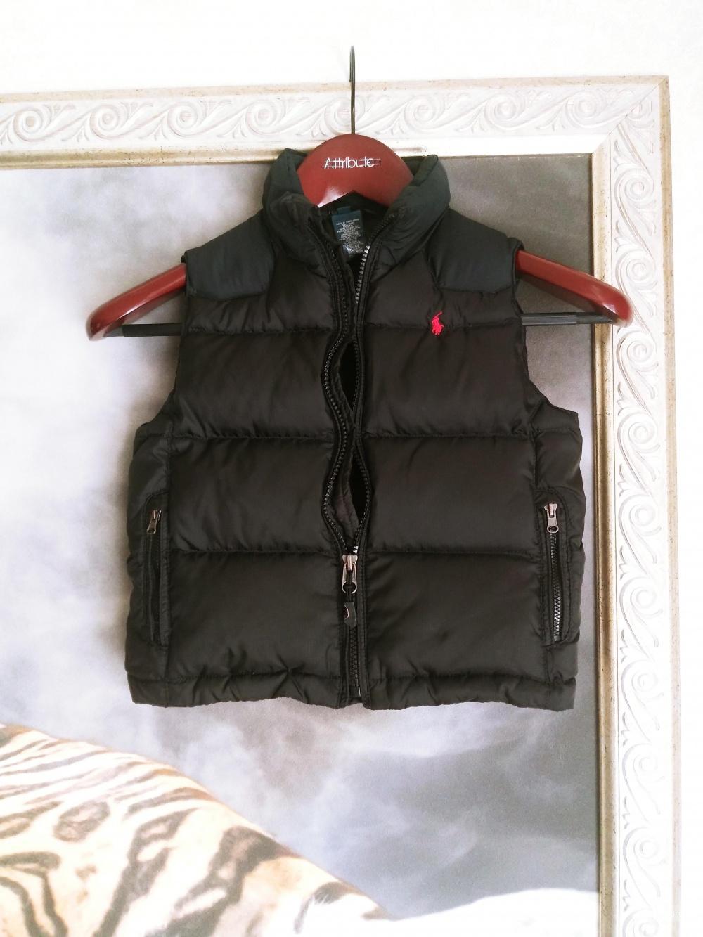 Жилет пуховый Polo Ralph Lauren, размер 3 Т.