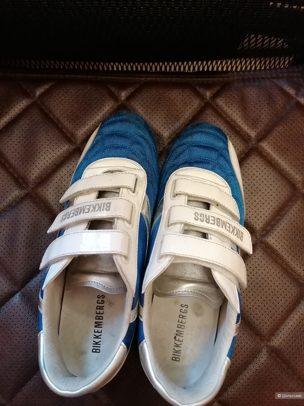 Кожаные кроссовки Bikkembergs размер 39