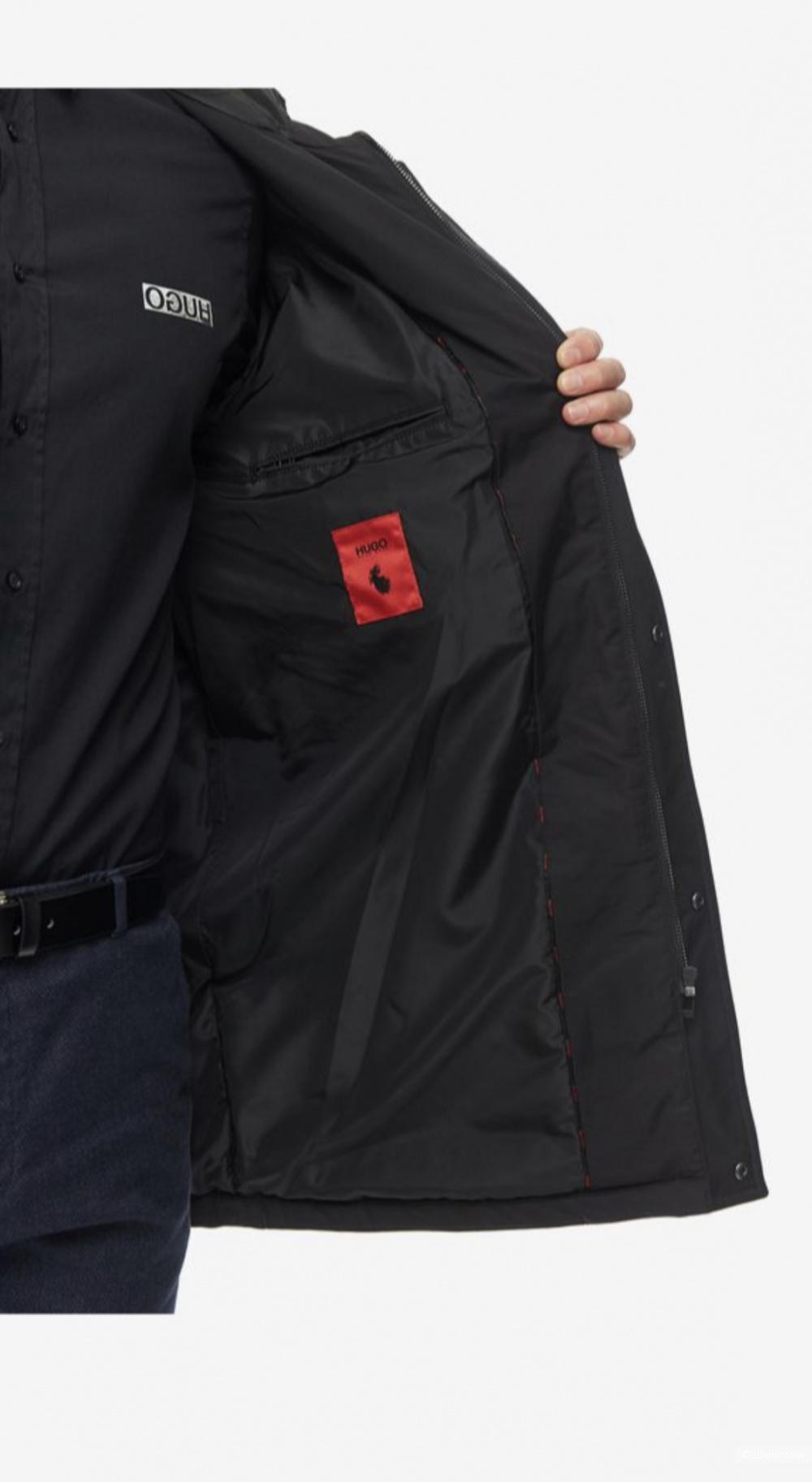 Мужское пальто пуховик Hugo размер 50
