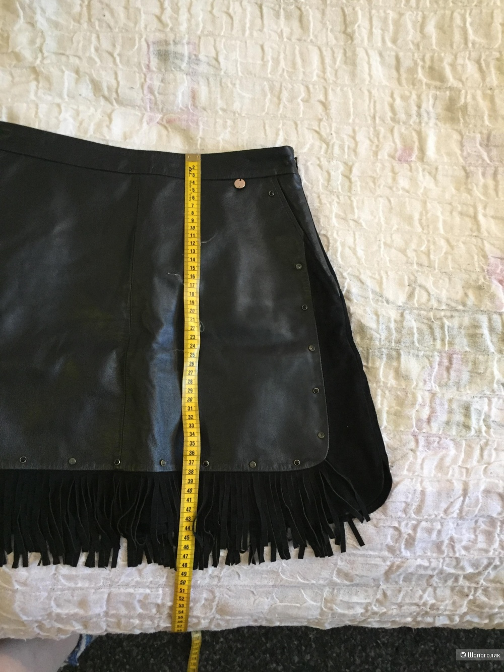 Кожаная юбка Liu Jo, 42 итальянский размер.