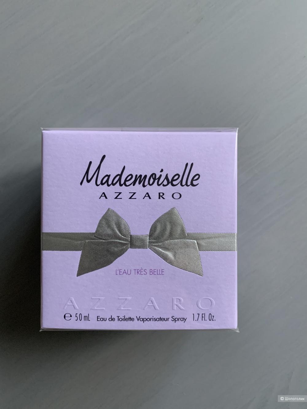 Туалетная вода Azzaro Mademoiselle L'Eau Tres Belle, 50 ml