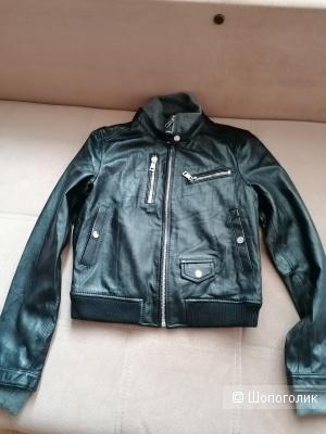 Кожаная куртка Moda International размер M