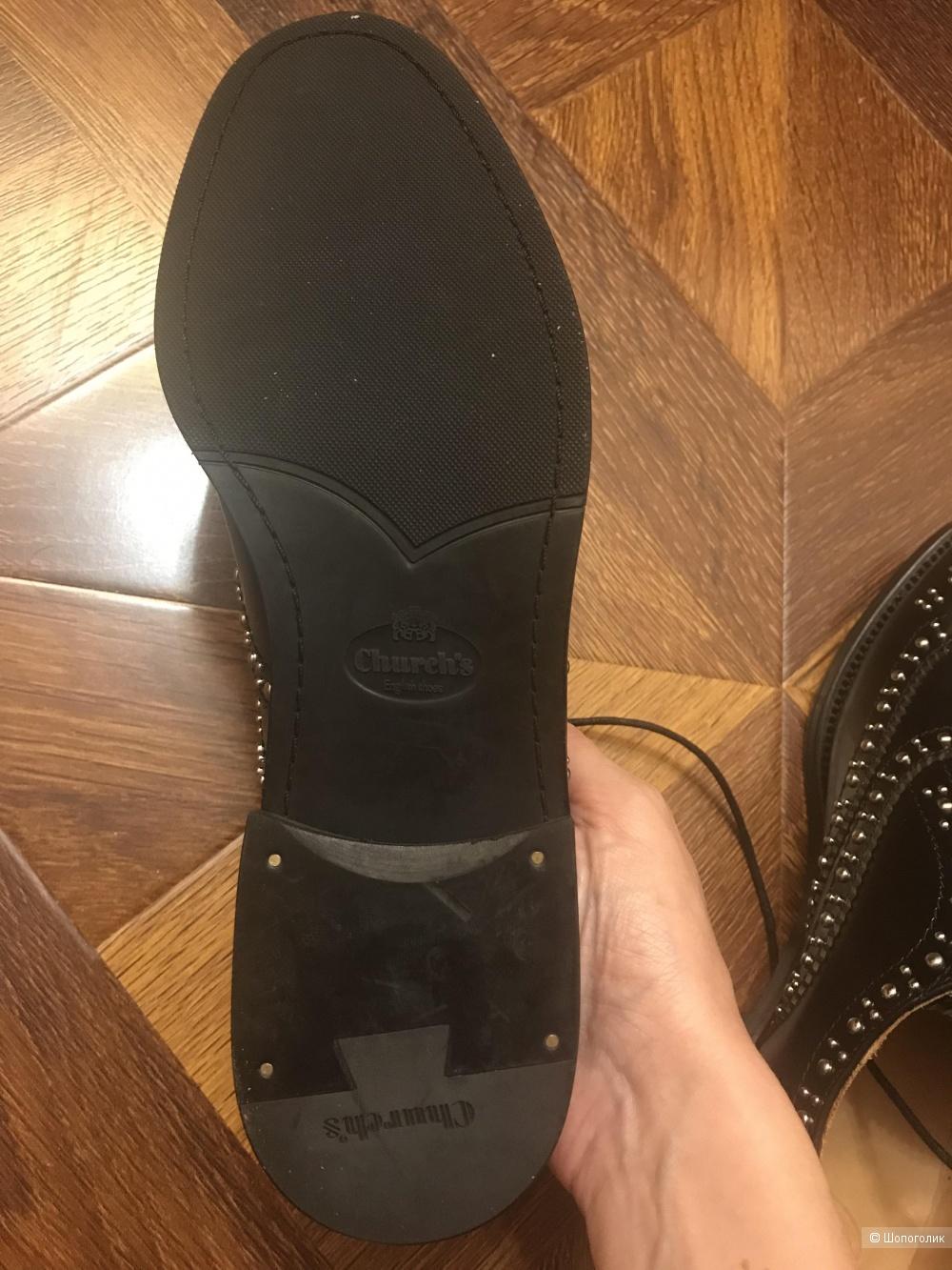 Ботинки в стиле Church's р. 39