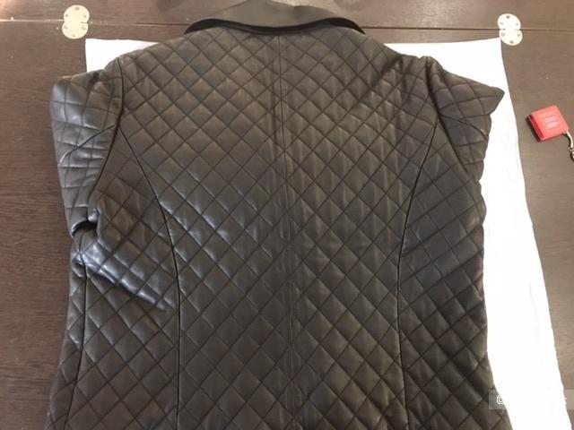 Куртка кожаная Massimo Dutti, размер XL