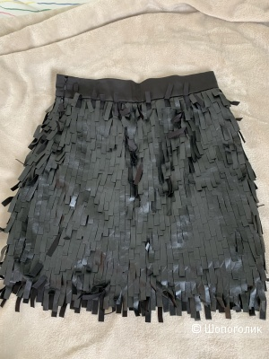 Кожаная юбка PokerFace