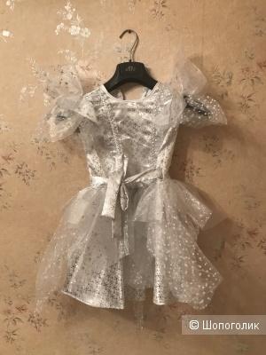 Платье Батик праздничное 32рус(4-5л)