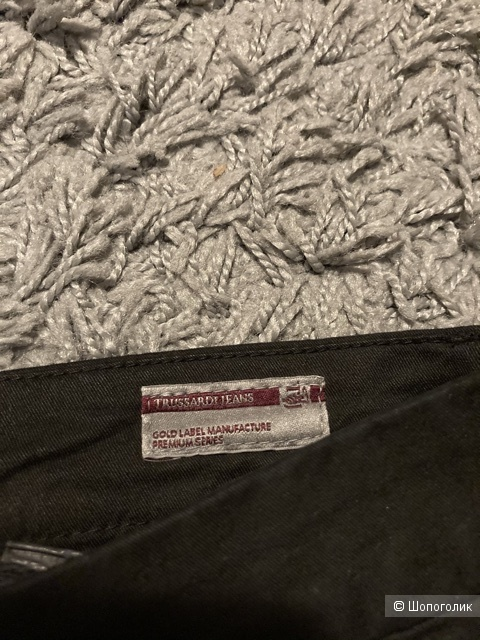 Брюки Trussardi Jeans Aviator fit, размер 46