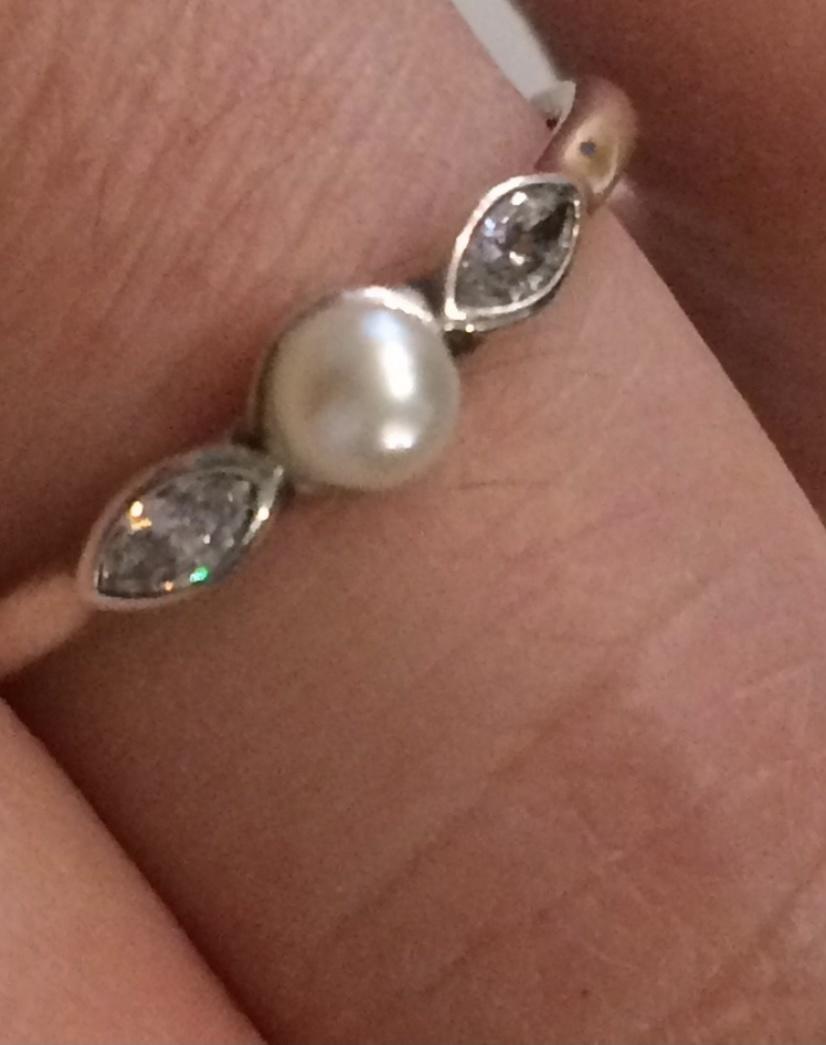 Кольцо Pandora , размер 17
