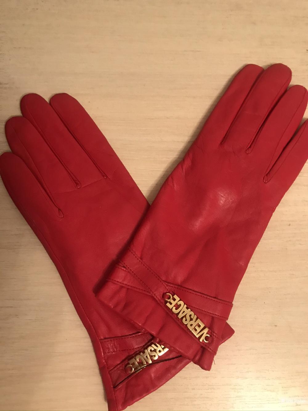 Перчатки фирма Versace размер 7.5