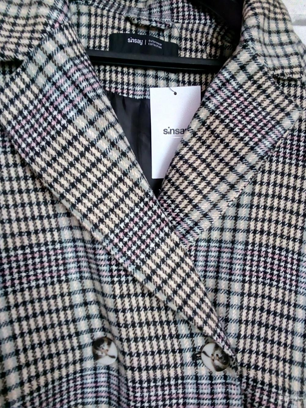Пальто Sinsay, размер S