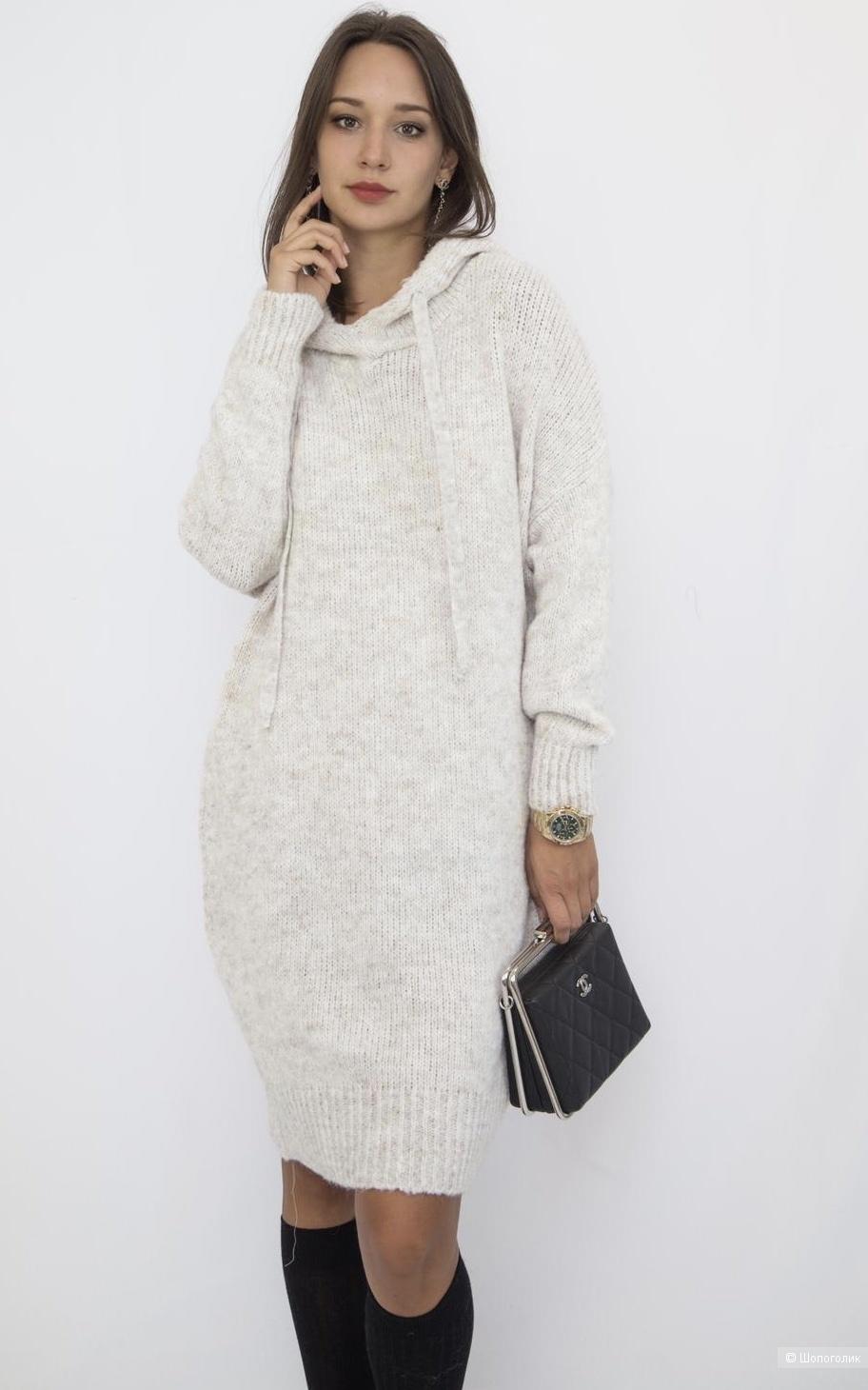 Платье-туника вязаное DINS TRICOT, 42-50