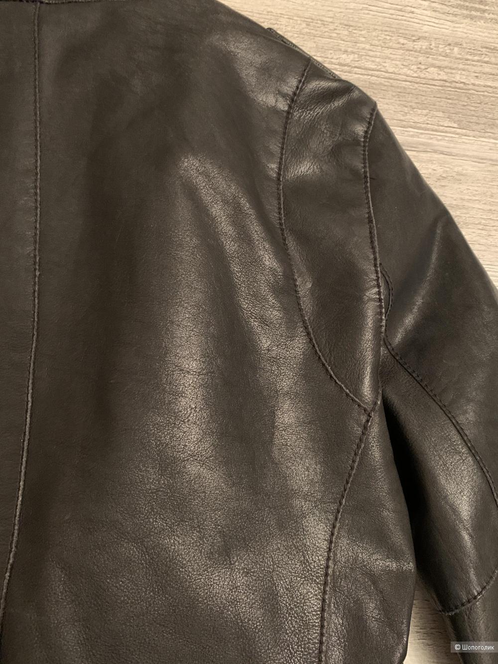 Куртка-косуха кожаная All Saints, р.40