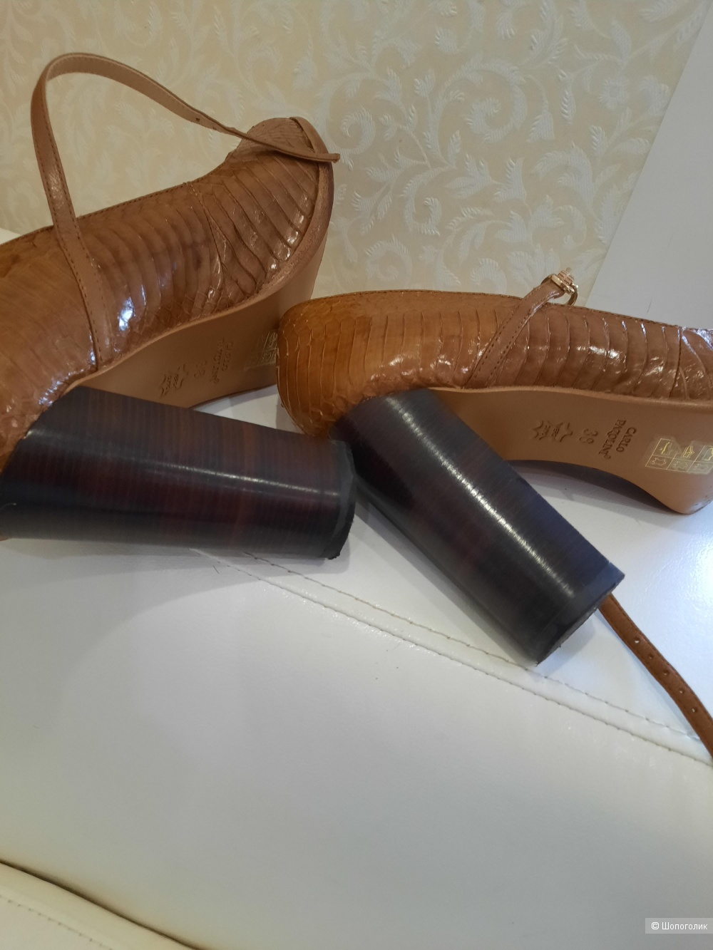 Туфли, Carlo Pazolini, 38 размер
