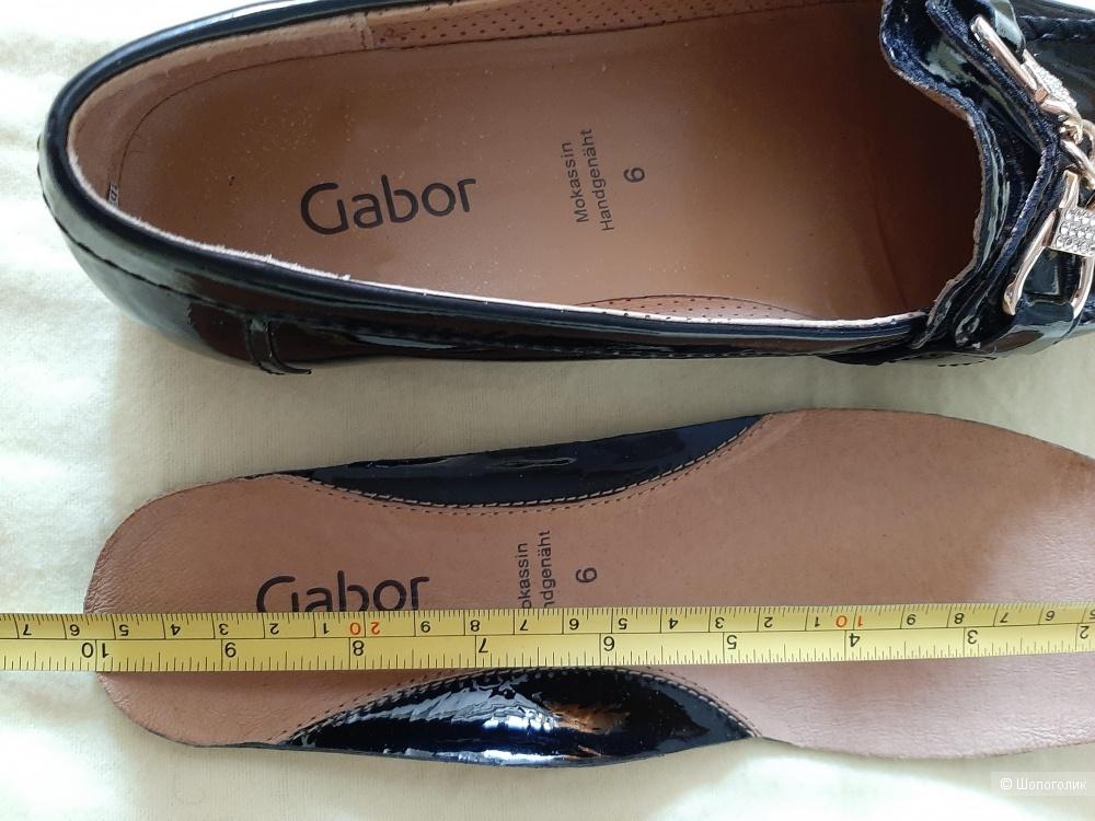 Мокасины  GABOR  размер (6)-38,5-39