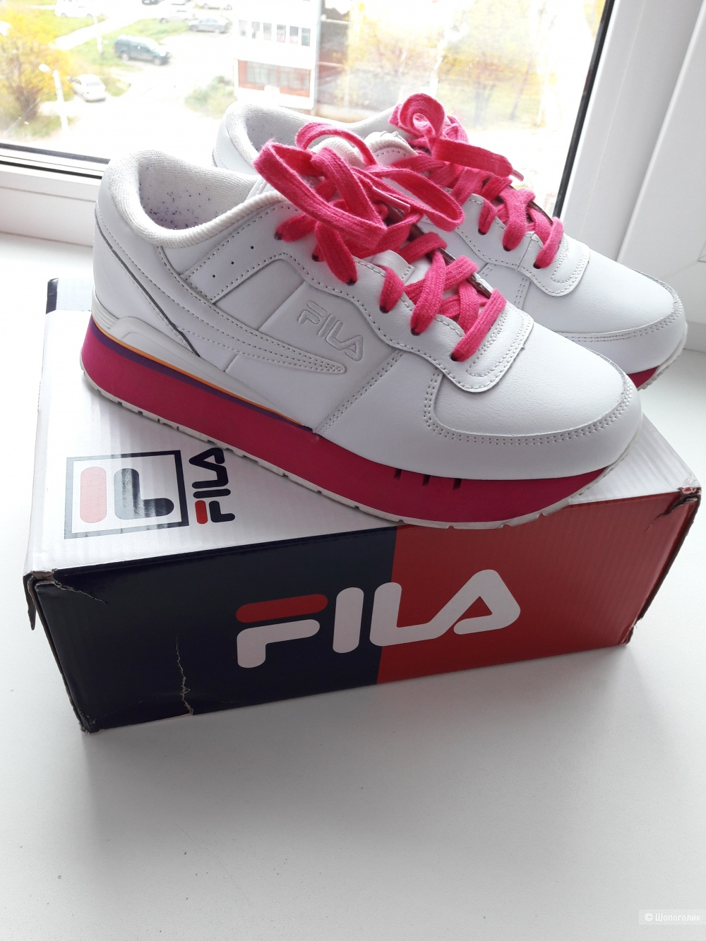 Кроссовки Fila, размер 7,5US