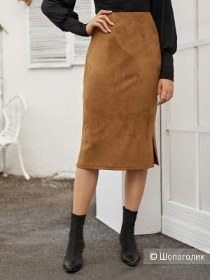 Замшевая юбка Second Female размер L