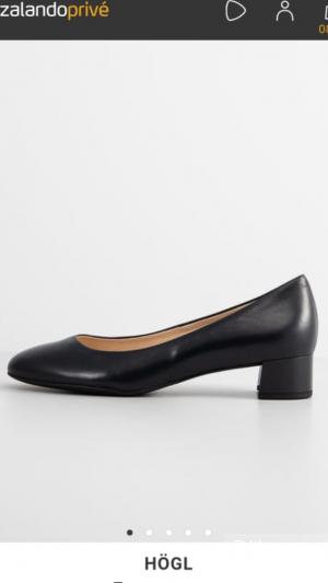 Туфли женские кожаные, размер 42,hogl