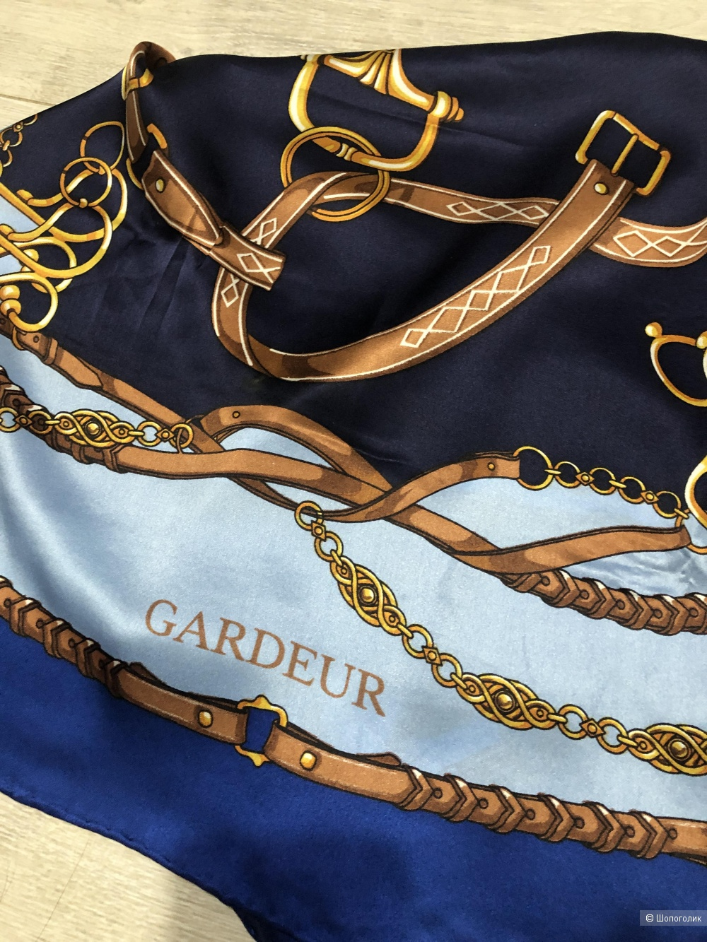 Платок Gardeur размер 85 на 85 см