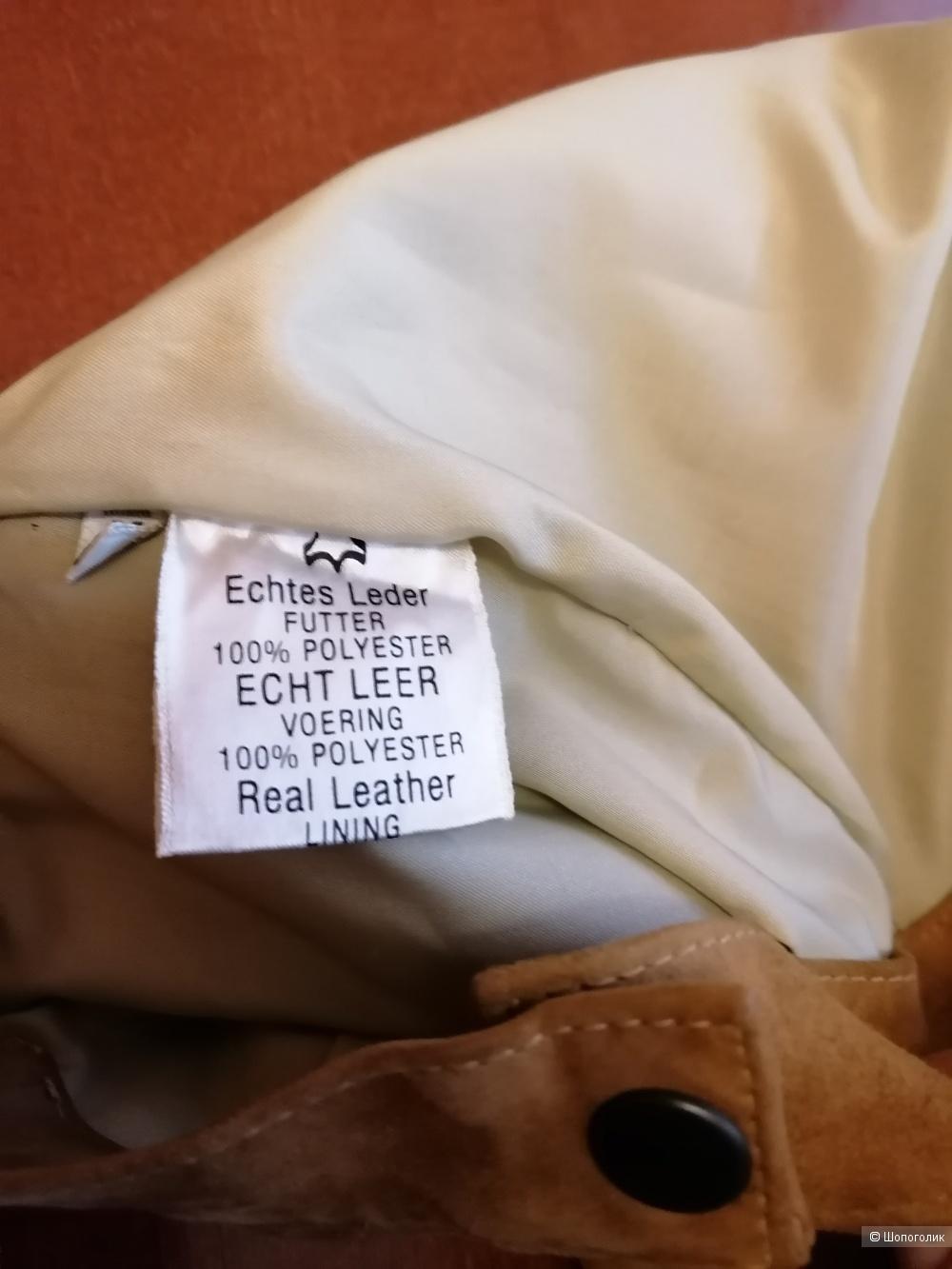 Замшевая юбка Apart размер 46-48
