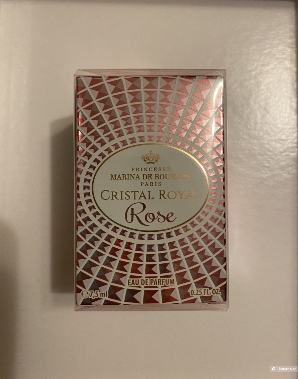 Парфюмерная вода Cristal Royal Rose Marina de Bourbon 7,5 ml