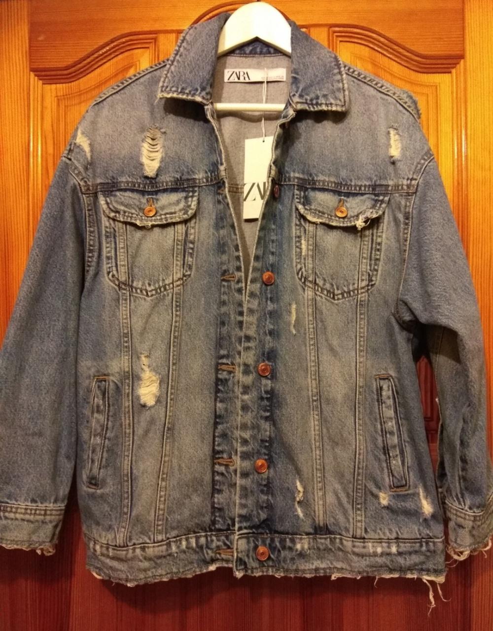 Джинсовая куртка Zara  размер s