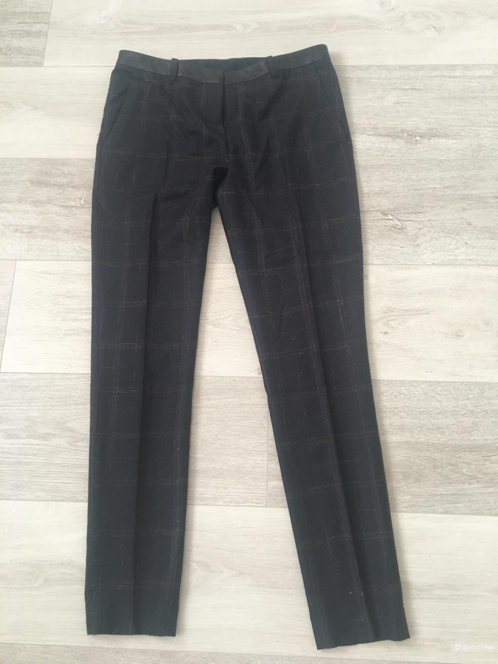 Шерстяные брюки Uterque, 42 размер