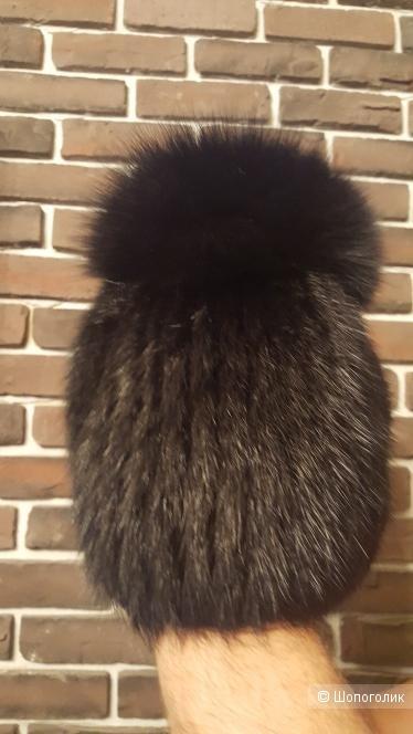 Меховая шапка , размер 56-58