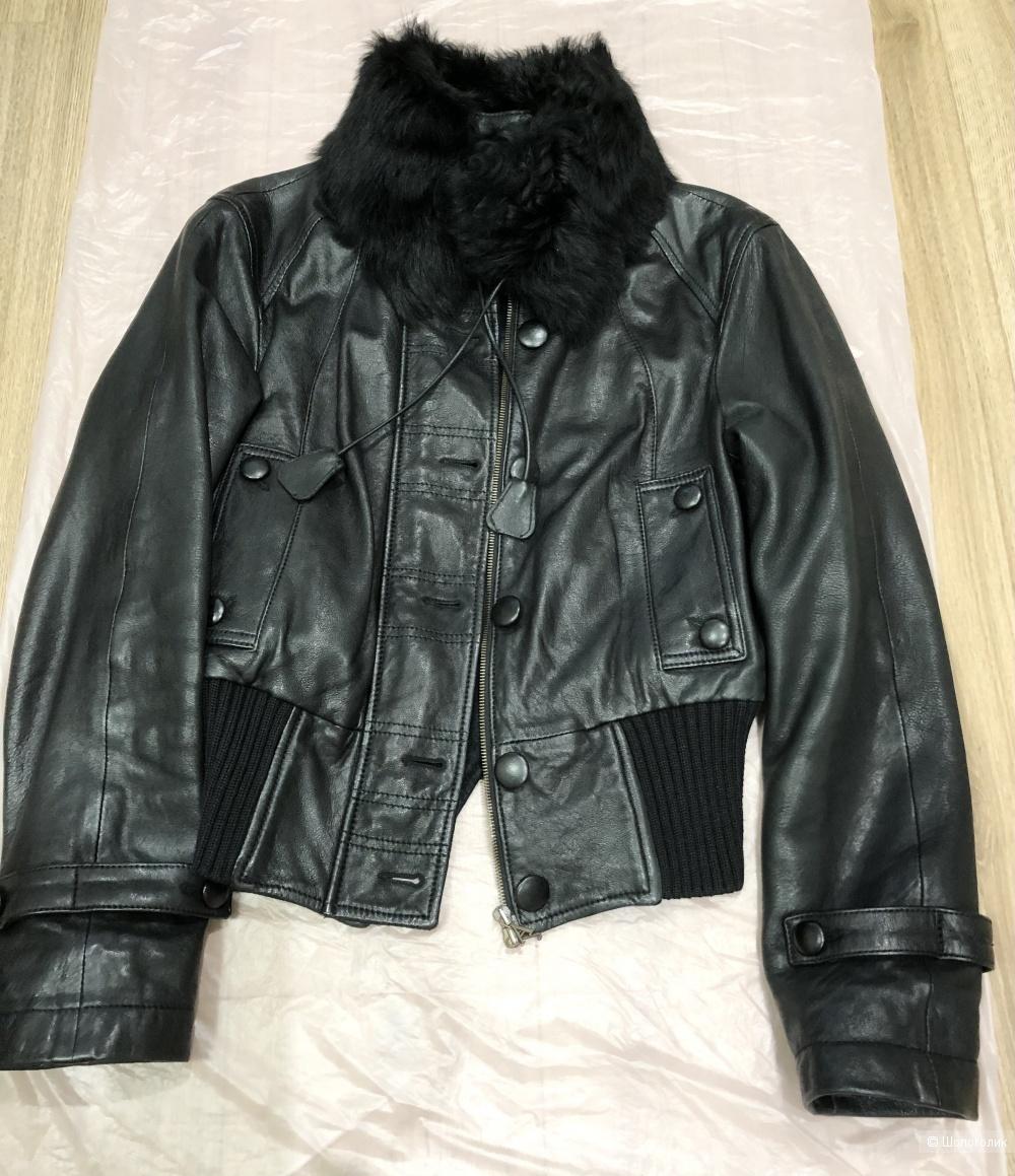 Куртка кожаная Armani Jeans, 40IT