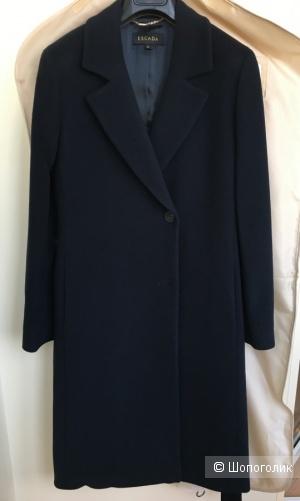Шерстяное пальто Escada, размер 34