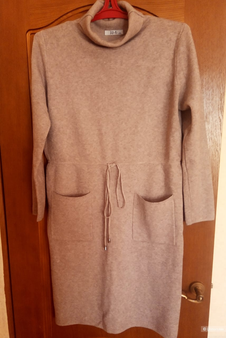Платье зимнее JJ-L. размер 48-50
