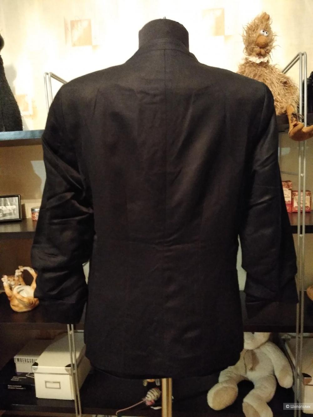 Жакет из смесового льна H&M. Размер: UK12, EUR40 (на 44-46 размер).