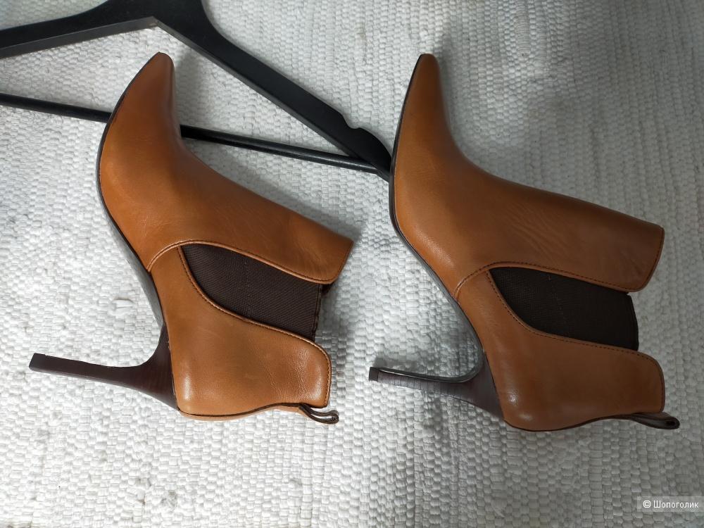 Кожаные ботильоны Ralph Lauren размер 37