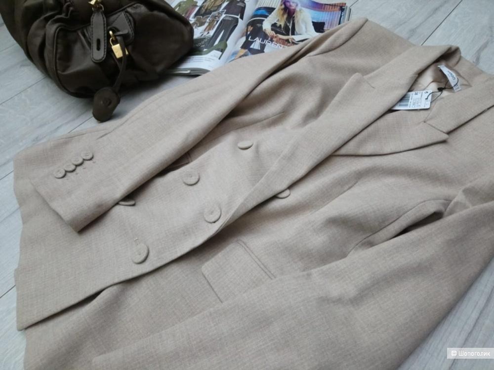 Двубортный пиджак mango, размер eu 36