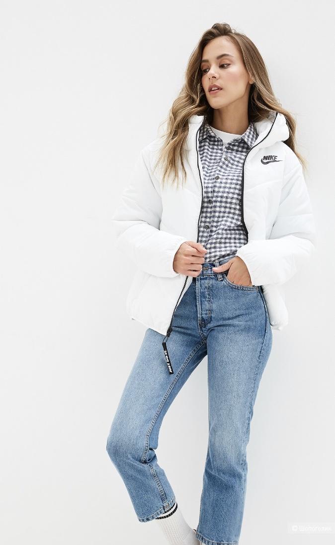 Куртка Nike утеплённая, xs, оверсайз, на 42-46 размер