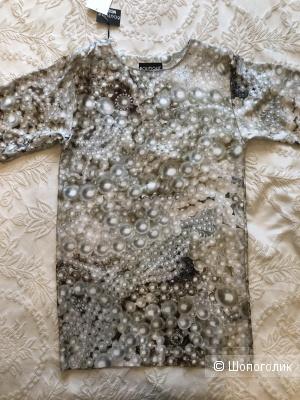 Шелковое платье BOUTIQUE MOSCHINO р. 38 IT, 40 RU