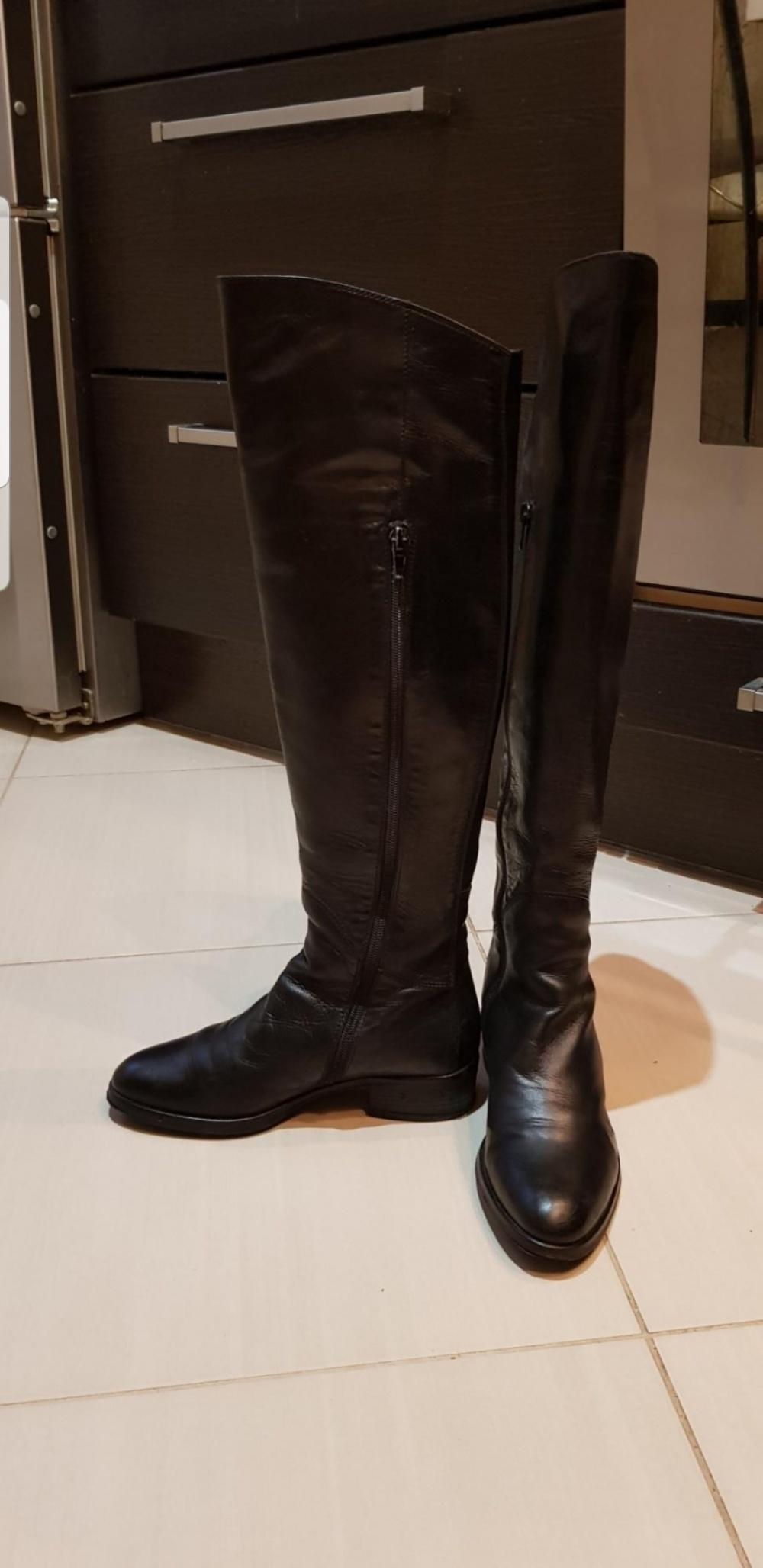 Ботфорты итальянские евро-зима Le Pepe, 36 размер.