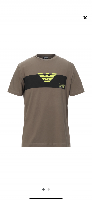Футболка мужская EA7 размер XXL (маломерит)