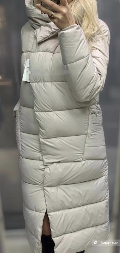 Пальто пуховик удлиненое Sungoea, 42-46