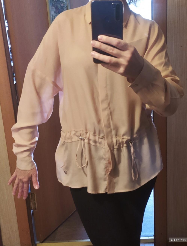 Блузка Versace Jeans, размер 46 ИТ (рос.48-50)