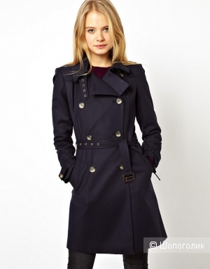 ASOS Premium Trench With Panel Detail, 10 UK